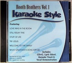 The Crabb Family Volume 3 Christian Karaoke Style New Cd+g Daywind 6 Songs Keep You Fit All The Time Karaoke Entertainment