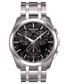 Tissot Watch, Men's Chronograph Stainless Steel Bracelet T0356171105100