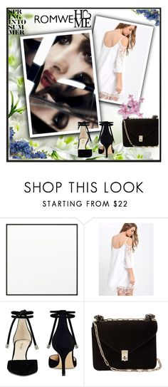 """""""ROMWE"""" by coctaildress ❤ liked on Polyvore featuring By Lassen, Nine West and Valentino"""