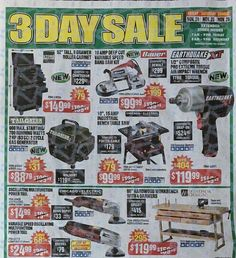 Harbor Freight Black Friday 2017 Ads and Deals Harbor Frieght offers affordable tools of all kinds, including power tools, air tools and hand tools. During Harbor Freight Black Friday 2017 Sale, sh. Black Friday Ads, November, Air Tools, Power Tools, Coupons, November Born, Electrical Tools, Coupon