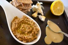 Roasted Cauliflower Dip with Tahnini and Ginger