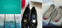Reino Cheibo shoes brand. Bronwstone Sans typeface.  www.sudtipos.com