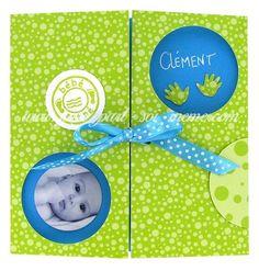 Faire-part naissance Clément