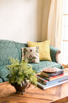 Meghan and Jesse focus on living a waste-free lifestyle, so they've repurposed as much as they could in their 540 square foot studio apartment filled with old-world charm.