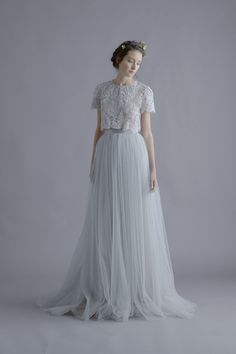 Louise Lace Blouse, Esra Cami and Lya Tulle Skirt