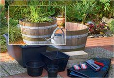Utilisima v deos estanque en maleta manualidades for Utilisima jardineria