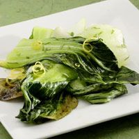 Grilled Bok Choy with Sweet Soy Glaze | Recipe | Sweets