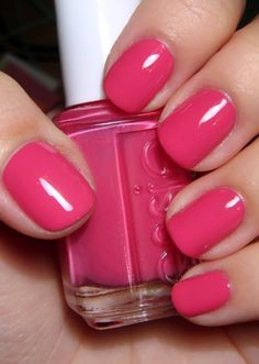 Best Pink Nail Polish Essie Pink Nagellack Luxus Essie the Lacquer Log What Causes Hair Loss? Hair l Essie Nail Polish Colors, Opi Nails, Nail Colors, Pink Polish, Essie Colors, Polish Nails, Cute Nails, Pretty Nails, Fabulous Nails