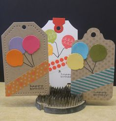 One Smile lifts A Spirit: A few Birthday Tags