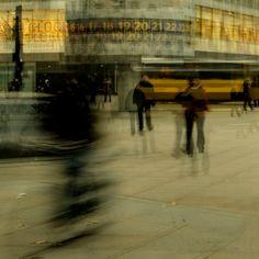 Berlin, Alexanderplatz by Stephanie Jung Dreamy Photography, Artistic Photography, Street Photography, Nature Photography, Abstract Photography, Distortion Photography, Exposure Photography, Documentary Photography, Multiple Exposure