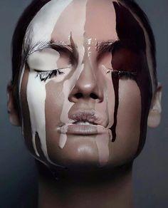 Aleksandar alek zivkovic face and body art в 2019 г. makeup, makeup art и c Makeup Photography, Portrait Photography, Make Up Inspiration, Make Up Art, Beauty Shoot, Maquillage Halloween, Homemade Face Masks, Too Faced, Contouring And Highlighting