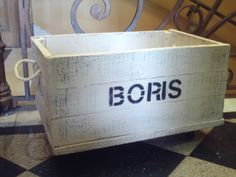 Caja Cajon En Madera Reciclada Estilo Vintage Patinada - $ 165,00 en MercadoLibre