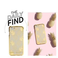 """""""The Daily Find: Skinnydip Phone Case"""" by polyvore-editorial ❤ liked on Polyvore featuring DailyFind"""