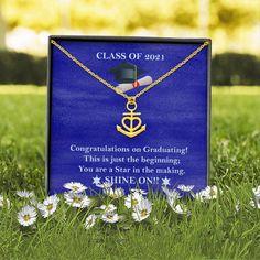 Daughter's Graduation Gift, Graduation Gift, Daughter's Graduation Anc – Shiny Jewelry Charm