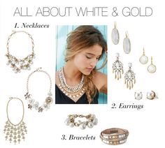 ALL ABOUT WHITE and GOLD by Stella Dot ..buy it now at: http://www.stelladot.com/sites/jenmaravillas