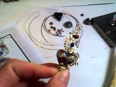 All about my wire wrapped heart - Lorraine Dowdle Creations