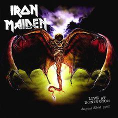 Portada Iron Maiden live at donington