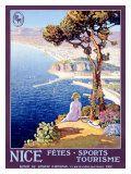 Nice, fêtes, sports, tourisme Impression giclée par L. Bonamici