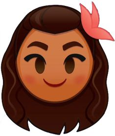 Moana is an emoji in Disney Emoji Blitz. Moana's skill allows the player to drag their finger around the board, clearing the emojis in the path they draw. Unicornios Wallpaper, Disney Wallpaper, Emoji Characters, Disney Characters, Mickey Mouse Ears Hat, Pixar, Chibi Kawaii, Mickey Balloons, Disney Souvenirs
