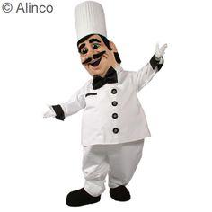 Chef Pierre Mascot Costume
