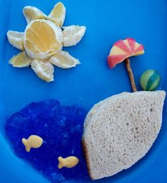 Beach Lunch for kids  perfect for summer.