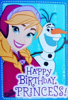 Disney Frozen Birthday Greeting Card... $9.99 #topseller