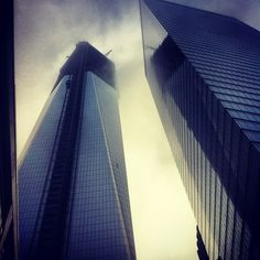 World Trade Center? #NYC #downtown #wallstreet #Building #sky #high #photography #picture