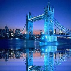 Tower Bridge, London - near our old home at The Tower of London.