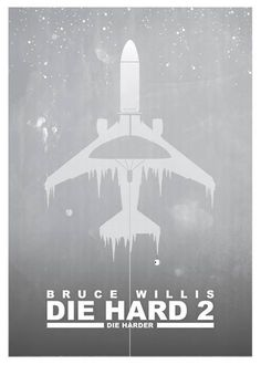 Die Hard 2 (1990) ~ Minimal Movie Poster by Barry McGovern