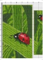 "Gallery.ru / celita - Альбом ""*****"" Cross Stitch, Embroidery, Diy, Dashboards, Ladybugs, Punto De Cruz, Dots, Animales, Crosses"