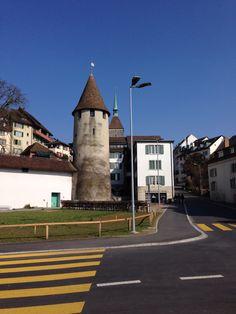Aarau, northeast of Olten Switzerland Bern, Travel Europe, Austria, My Dream, Places To Visit, Around The Worlds, Mansions, House Styles, Switzerland