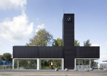 ж/д станция из контейнеров, NL Architects, фото: © NL Architects
