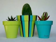 Idea Of Making Plant Pots At Home // Flower Pots From Cement Marbles // Home Decoration Ideas – Top Soop Flower Pot Art, Flower Pot Crafts, Clay Pot Crafts, Painted Plant Pots, Painted Flower Pots, Decorated Flower Pots, Pot Plante, Terracotta Pots, Garden Crafts