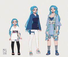 Anime Oc, Anime Naruto, Naruto Art, Anime Demon, Female Character Design, Cute Anime Character, Character Outfits, Character Art, Tomboy Art