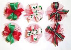 AC0304 - Christmas Bow Collection