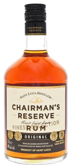 Chairmans Reserve rum online kopen bestellen in Nederland en Belgie