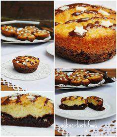 .. chute a vône mojej kuchyne...: Mini brownie kolaciky