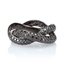diamant-noir ring