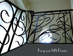 Rampe D 39 Escalier En Fer Forg Du Xx Me Si Cle Metal Freak Pinterest Railings And Stairways