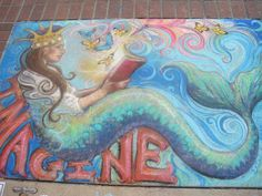 Craig and Becca Maughan: Chalk Art Festival