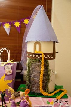 An enchanting Tangled and Rapunzel birthday party.