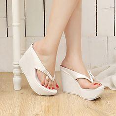 Shoes For Women Heel Wedges Heels Platform Heels Clogs Mules Outdoor Dress CasualBlack Pink 552