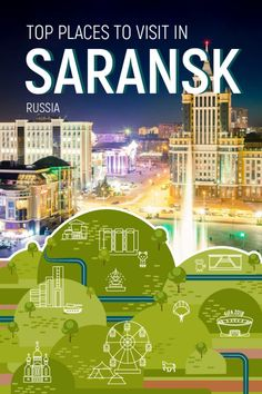 Top Places to Visit in Saransk. Russia