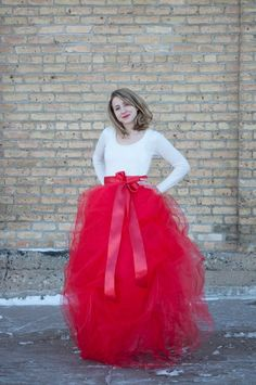 Make a red tulle skirt! - Shades of Me Sewing Series | this heart of mine