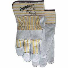 Boss Stallion Split Leather Gloves, Multicolor