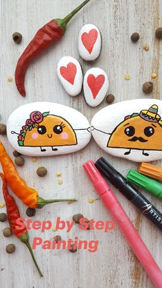 Painting Crafts For Kids, Rock Painting Ideas Easy, Crafts For Kids To Make, Crafts To Sell, Diy Crafts, Rock Painting Ideas For Kids, Painted Rocks Craft, Hand Painted Rocks, Painted Shoes