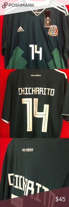 8ec9d7959 ⚽️Mexico National Football Jersey(Chicharito)⚽ NWT authentic adidas Javier  Hernández Balcáza