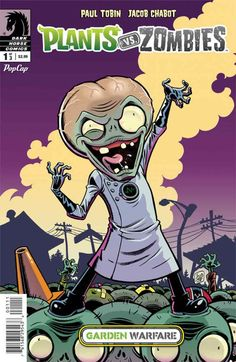 Review: Plants VS Zombies Garden Warfare #1 | Dark Horse | You won't be able to resist -San Diego Book Review - http://www.sandiegobookreview.com/plants-vs-zombies-garden-warfare-1/