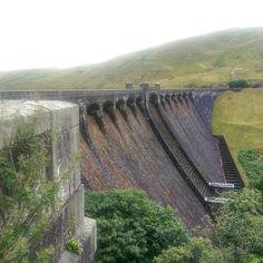 Claerwen Dam, Elan Valley, August 2016.