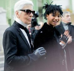 FEATURE: Willow Smith is named CHANEL's latest brand ambassador. Check it out —> http://www.afropunk.com/profiles/blogs/feature-karl-lagerfeld-and-chanel-name-willow-their-latest-brand